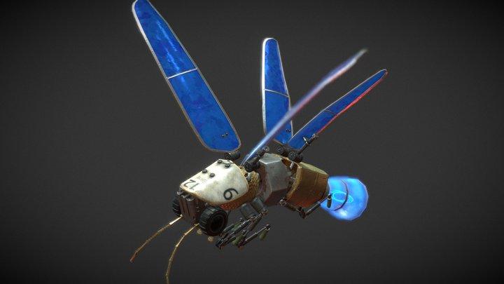 Lightning Bug Robot 3D Model