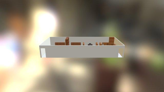 中平圖書館3D設計圖 3D Model