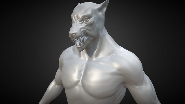 Werewolf Test 3D Model
