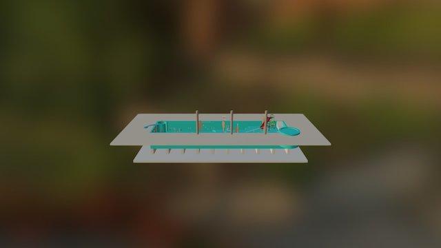 POOL122 3D Model
