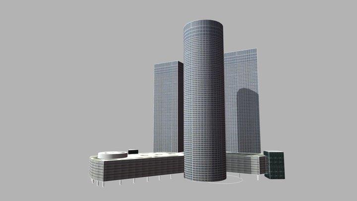 Azrieli Center - Tel Aviv 3D Model