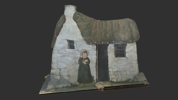 The Cottage (stage set 2 of 5) 3D Model