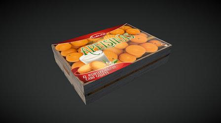 """Caja de galletas """"Apelsinas"""" - estilo clásico 3D Model"""