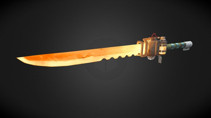 Super-heated Induction blade 3D Model