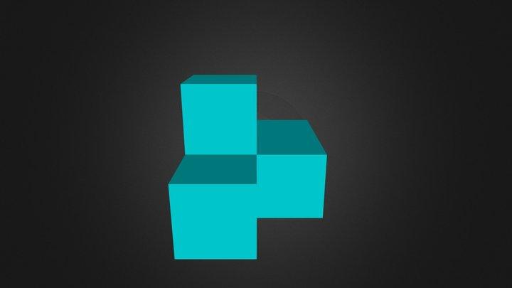 Puzzle cube part 5 3D Model