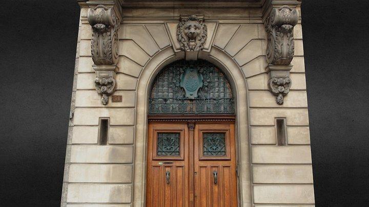Porte au lion, Castres (81) 3D Model
