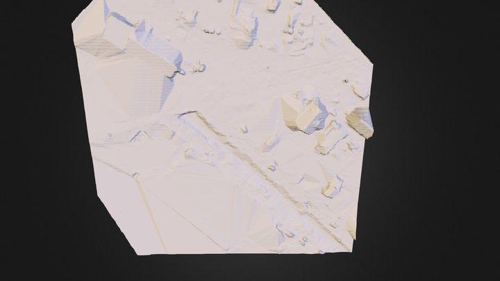 Dobříš potok 3D Model