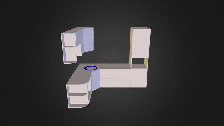 Гурьянова Кухня v2 2 3D Model