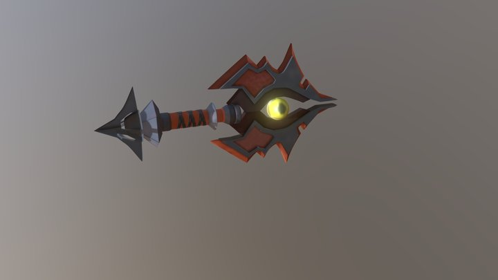 Rising tide  Axe from World of Warcraft 3D Model