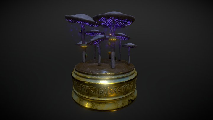 Svampens Grotta 3D Model