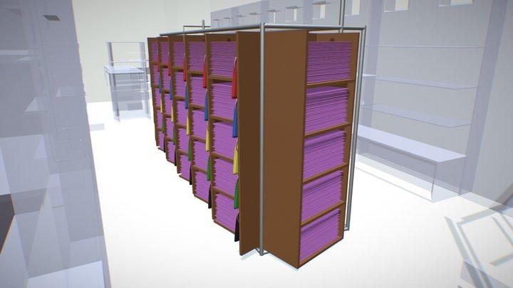 Spatial Concept Blockout 3D Model