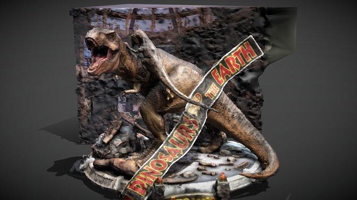Jurassic Park Prime Studio 1 Statue 3D Model