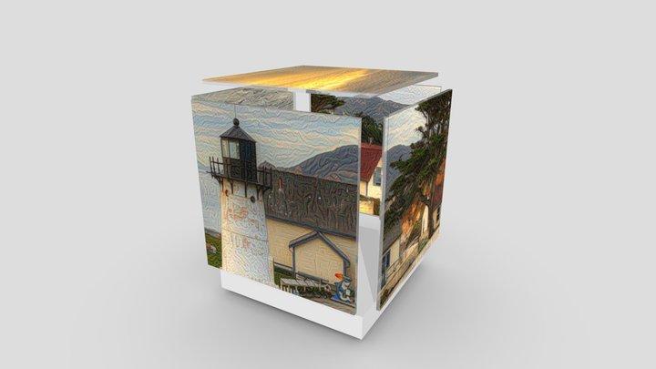 Pt Montara Lighthouse: Quintet Cube Brane (rev) 3D Model