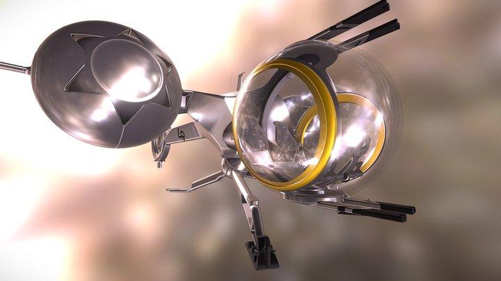 Bubble Ship (Oblivion) 3D Model