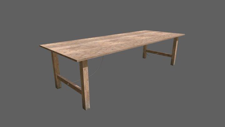 Fasan Table 3D Model