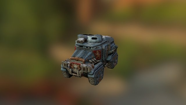 Taurox Alpha 3D Model