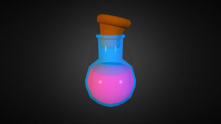 Low Poly Potion 3D Model