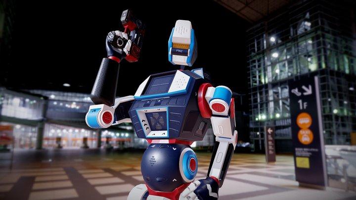 PTA2 3D Model