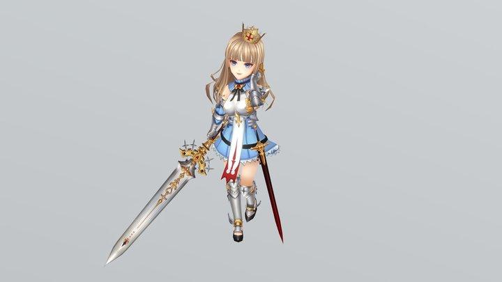 Seven Knights - Elysia 3D Model