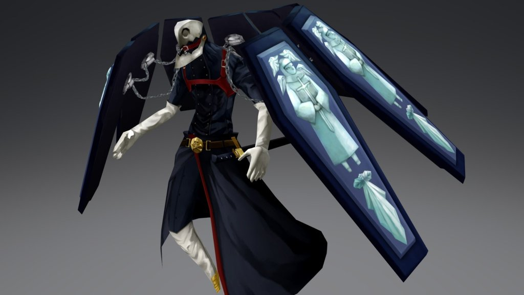 Thanatos Persona 3 Fanart 3d Model By S Torio S Torio
