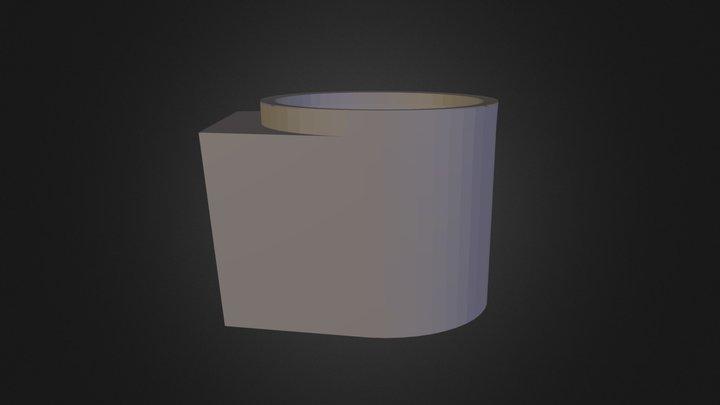 Cell Toilet 3D Model