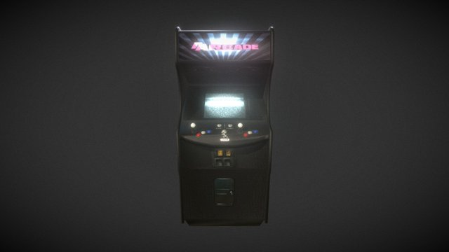 Two Player Arcade 3D Model