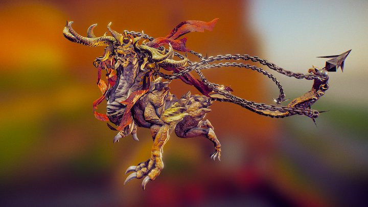 MyCreatureSculpt 3D Model