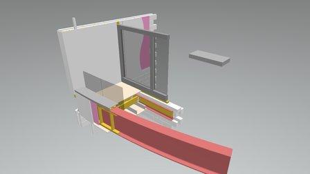 80477 004 150707 Balcony 3D 3D Model