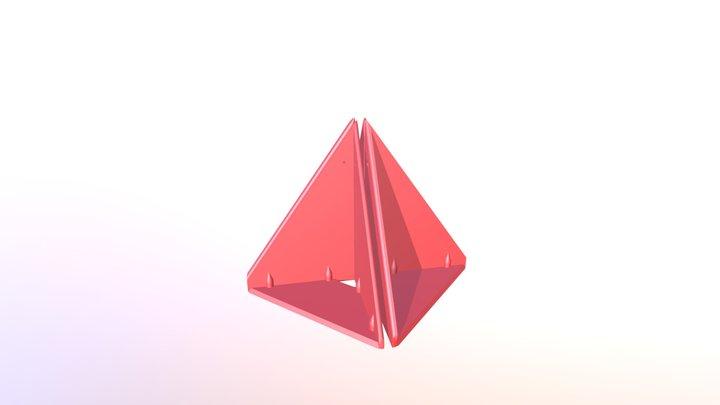 Prism P7 - 4 Full Dock Shells 3D Model