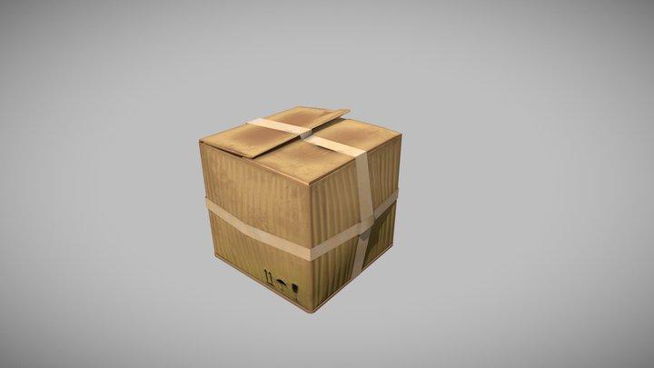 Коробка 3D Model