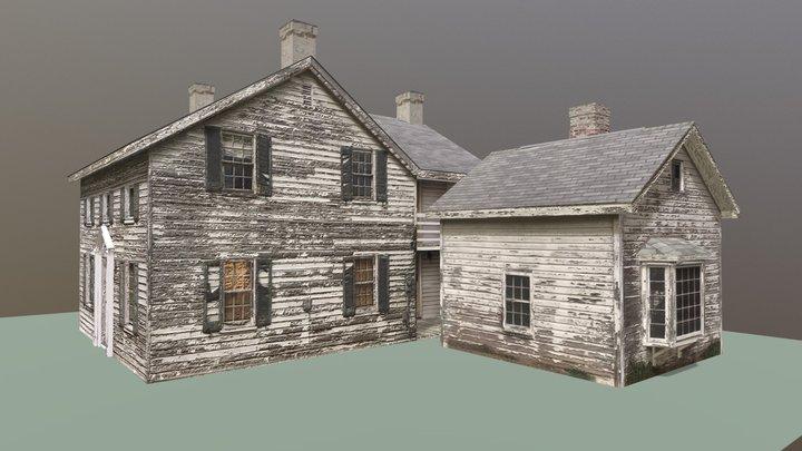 Helen Smith House and Studio Model 3D Model