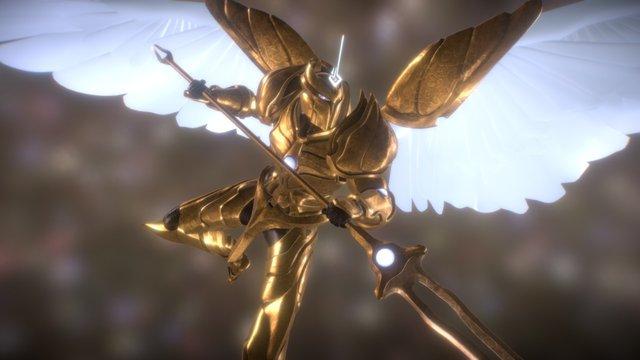 Archangel Ezekiel 3D Model