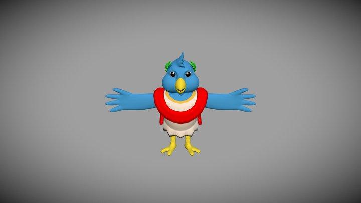 Roman Bird 3D Model