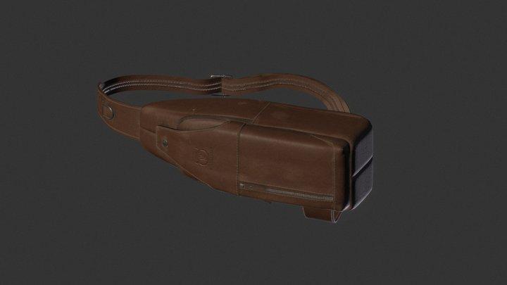 Leather Mini Bag Game 3D Model