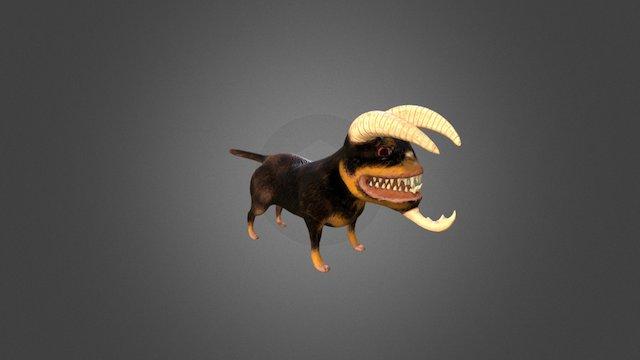 Krahl_HellHound 3D Model