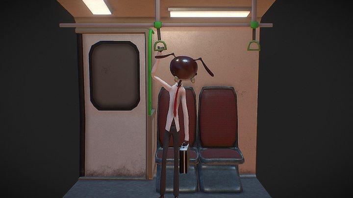 Worker Ant 3D Model