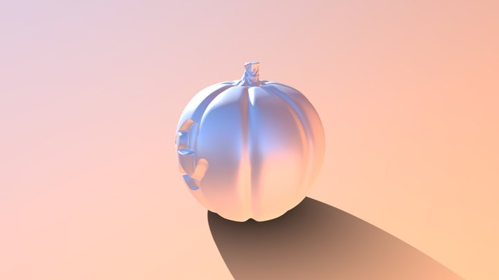 Test_pumpkin 3D Model