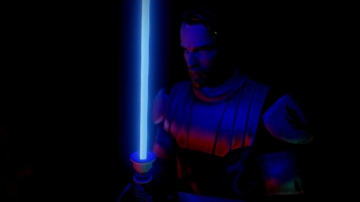 Obi Wan Kenob 3D Model