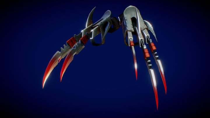 Claws from Six Guns 3D Model