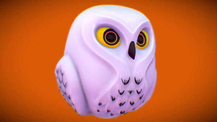 #3December #Day20 The Observing Owl 3D Model