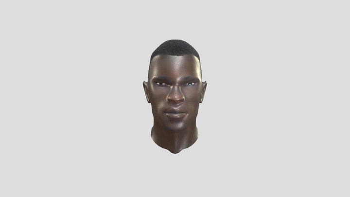 Dillard, Darren Bust 3D Model
