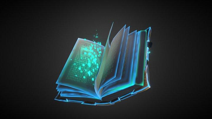 Viking book 3D Model