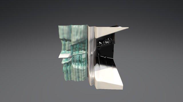 Vug 1 Plane 3D Model