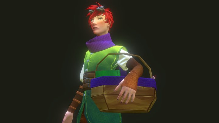 Alchemist character project 3D Model
