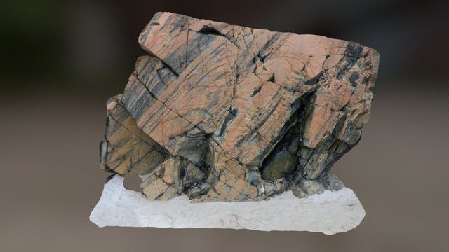 Eroded Boudins at Achmelvich 3D Model