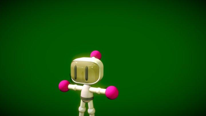 Bomberman by TKW 3D Model