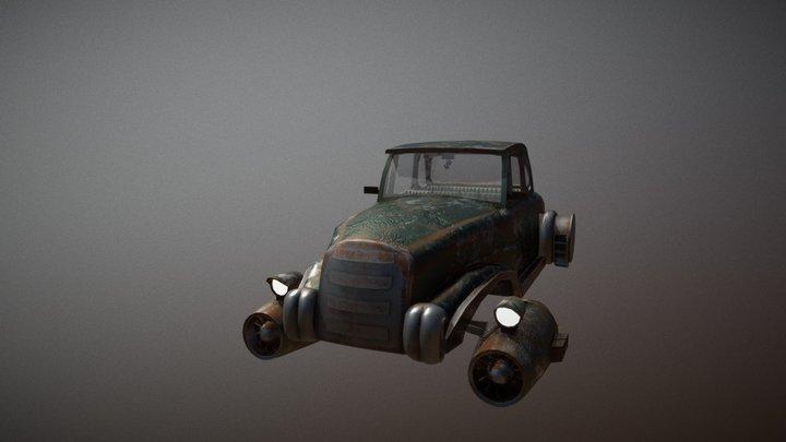 starship retro-cars 3D Model