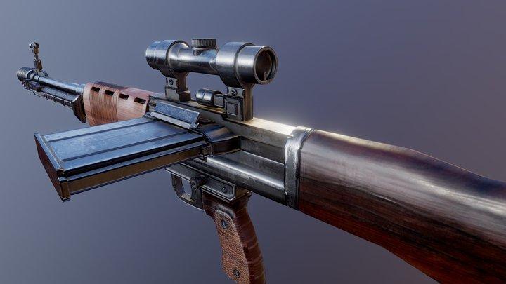 FG 42 (OLD) 3D Model