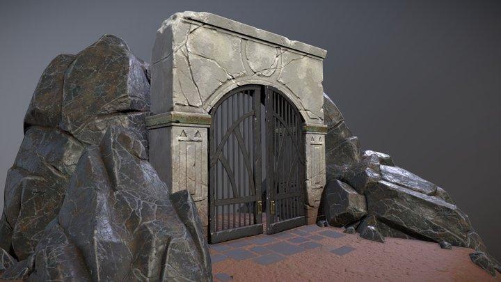 Gate Scene 3D Model