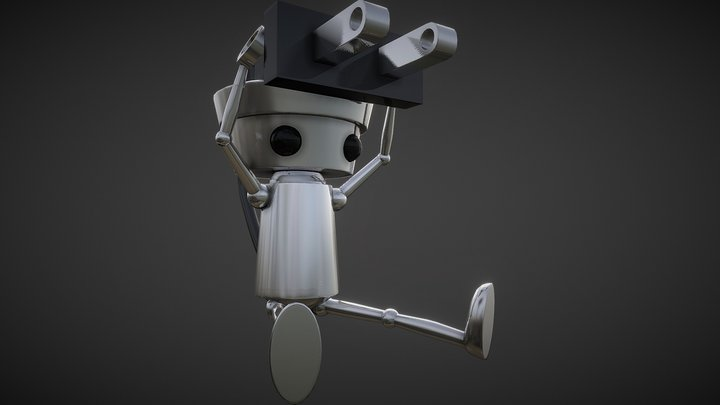 Chibi-Robo! 3D Model